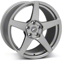 Gunmetal Forgestar CF5 Monoblock Wheel - 18x9 (05-14 All) - Forgestar 1890CF5GUNMETAL0512