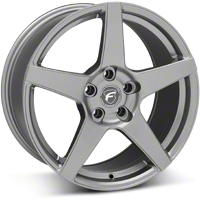 Gunmetal Forgestar CF5 Monoblock Wheel - 18x10 (05-14 All) - Forgestar 1810CF5GUNMETAL0512