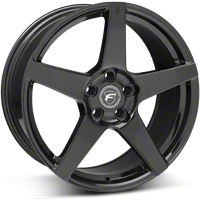 Forgestar CF5 Monoblock Piano Black Wheel - 19x9 (05-14 All) - Forgestar 1990CF5GLOSSBLACK0512