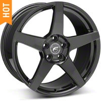 Forgestar CF5 Monoblock Piano Black Wheel - 19x10 (05-14 All) - Forgestar 1910CF5GLOSSBLACK0512