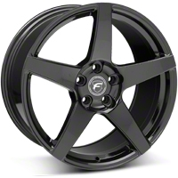 Piano Black Forgestar CF5 Monoblock Wheel - 19x10 (05-14 All) - Forgestar 1910CF5GLOSSBLACK051