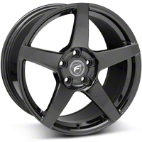 Piano Black Forgestar CF5 Monoblock Wheel - 18x10 (05-14 All) - Forgestar 1810CF5GLOSSBLACK051