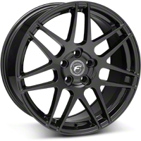 Piano Black Forgestar F14 Monoblock Wheel - 19x9 (05-14 All) - Forgestar 1990F14GLOSSBLACK051