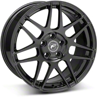 Forgestar F14 Monoblock Piano Black Wheel - 18x9 (05-14 All) - Forgestar 1890F14GLOSSBLACK0512