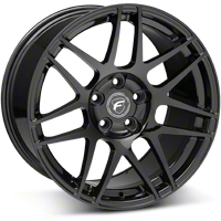 Piano Black Forgestar F14 Monoblock Wheel - 18x10 (05-14 All) - Forgestar 1810F14GLOSSBLACK051