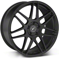 Matte Black Forgestar F14 Monoblock Wheel - 20x9 (05-14 All) - Forgestar 2090F14MATTEBLACK0512