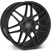 Matte Black  Forgestar F14 Deep Concave Monoblock Wheel - 20x11 (05-14 All) - Forgestar 2011F14MATTEBLACK0512