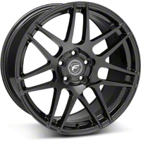 Piano Black Forgestar F14 Deep Concave Monoblock Wheel - 20x11 (05-14 All) - Forgestar 2011F14GLOSSBLACK051