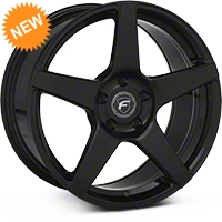 Forgestar CF5 Monoblock Piano Black Wheel - 18x9 (94-04) - Forgestar 1890CF5PIANOBLACK9404