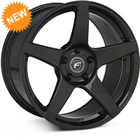 Forgestar CF5 Monoblock Piano Black Wheel - 18x10 (94-04) - Forgestar 1810CF5PIANOBLACK9404