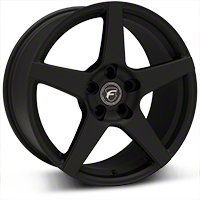 Textured Black Forgestar CF5 Monoblock Wheel - 18x9 (94-04 All) - Forgestar 1890CF5TEXTBLACK9404