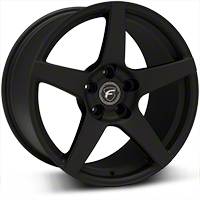 Textured Black Forgestar CF5 Monoblock Wheel - 18x10 (94-04 All) - Forgestar 1810CF5TEXTBLACK9404