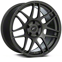 Forgestar F14 Monoblock Gunmetal Wheel - 18x10 (94-04 All) - Forgestar 1810F14GUNMETAL9404
