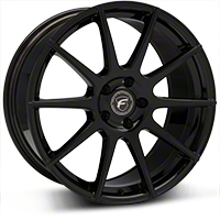 Piano Black Forgestar CF10 Monoblock Wheel - 19x9 (05-14 All) - Forgestar 1990CF10PIANOBLACK0512