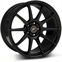 Piano Black Forgestar CF10 Monoblock Wheel - 19x10 (05-14 All) - Forgestar 1910CF10PIANOBLACK0512