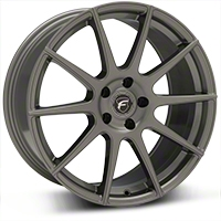 Gunmetal Forgestar CF10 Monoblock Wheel - 19x9 (05-14 All) - Forgestar 1990CF10GUNMETAL0512