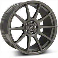 Gunmetal Forgestar CF10 Monoblock Wheel - 19x10 (05-14 All) - Forgestar 1910CF10GUNMETAL0512