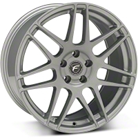 Silver Forgestar F14 Monoblock Wheel - 19x9 (05-14 All) - Forgestar 1990F14SILVER0512