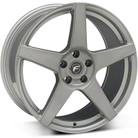 Silver Forgestar CF5 Monoblock Wheel - 19x9 (05-14 All) - Forgestar 1990CF5SILVER0512
