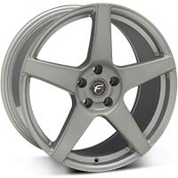 Forgestar CF5 Monoblock Silver Wheel - 19x10 (05-14 All) - Forgestar 1910CF5SILVER0512