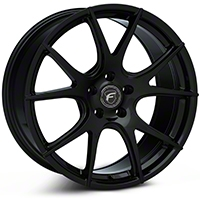 Piano Black Forgestar CF5V Monoblock Wheel - 19x9 (05-14 All) - Forgestar 1990CV5VPIANOBLACK05