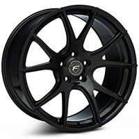 Forgestar CF5V Monoblock Piano Black Wheel - 19x10 (05-14 All) - Forgestar 1910CV5VPIANOBLACK05