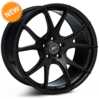 Piano Black Forgestar CF5V Monoblock Wheel - 19x10 (05-14 All) - Forgestar 1910CV5VPIANOBLACK05