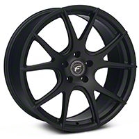 Forgestar CF5V Monoblock Matte Black Wheel - 19x9 (05-14 All) - Forgestar 1990CV5VMATTEBLACK05