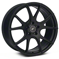 Matte Black Forgestar CF5V Monoblock Wheel - 19x9 (05-14 All) - Forgestar 1990CV5VMATTEBLACK05