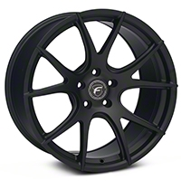Forgestar CF5V Monoblock Matte Black Wheel - 19x10 (05-14 All) - Forgestar 1910CV5VMATTEBLACK05