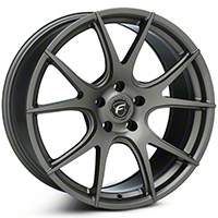 Gunmetal Forgestar CF5V Monoblock Wheel - 19x9 (05-14 All) - Forgestar 1990CV5VGUNMETAL0512