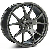 Forgestar CF5V Monoblock Gunmetal Wheel - 19x10 (05-14 All) - Forgestar 1910CV5VGUNMETAL0512