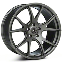 Gunmetal Forgestar CF5V Monoblock Wheel - 19x10 (05-14 All) - Forgestar 1910CV5VGUNMETAL0512