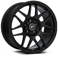 Forgestar F14 Monoblock Matte Black Wheel - 17x9 (94-04 All) - Forgestar 1790F14MATTEBLACK9404