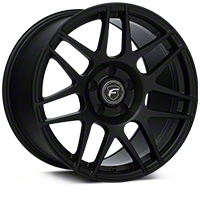 Forgestar F14 Monoblock Matte Black Wheel - 17x10.5 (94-04 All) - Forgestar 17105F14MATTEBLACK9404