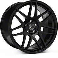 Forgestar F14 Monoblock Piano Black Wheel - 19x11 (05-14 All) - Forgestar 1911F14PIANOBLACK0514