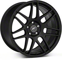 Forgestar F14 Monoblock Matte Black Wheel - 19x11 (05-14 All) - Forgestar 1911F14MATTEBLACK0514