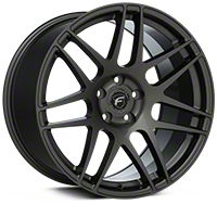 Forgestar F14 Monoblock Gunmetal Wheel - 19x11 (05-14 All) - Forgestar 1911F14GUNMETAL0514