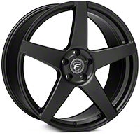 Forgestar CF5 Matte Black Wheel - 20x9 (05-14 All) - Forgestar 2009CF5MATTEBLACK0514