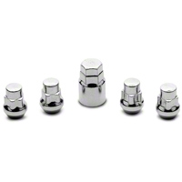 Locks with Key for Chrome Acorn Lug Nuts (79-14 All)