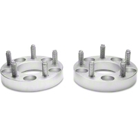 Billet Aluminum Wheel Spacers - 1.5in - Pair (94-14 All) - American Muscle Wheels 29909