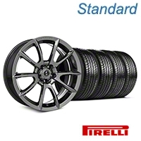 Shelby Super Snake Style Chrome Wheel & Pirelli Tire Kit- 19x8.5 (05-14 All) - Shelby KIT||101413||63101