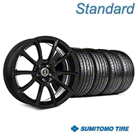 Shelby Super Snake Style Black Wheel & Sumitomo Tire Kit- 19x8.5 (05-14 All) - Shelby KIT||101405||63036