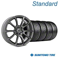 Shelby Super Snake Style Charcoal Wheel & Sumitomo Tire Kit- 19x8.5 (05-14 All) - Shelby KIT||101409||63036