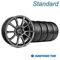 Shelby Super Snake Style Chrome Wheel & Sumitomo Tire Kit- 19x8.5 (05-14 All) - Shelby KIT||101413||63036
