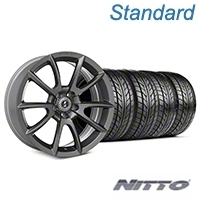 Shelby Super Snake Style Charcoal Wheel & NITTO Tire Kit - 20x9 (05-14 All) - Shelby KIT||101411||76005