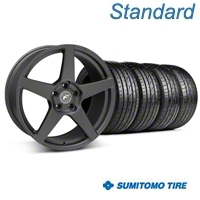 Forgestar CF5 Matte Black Wheel & Sumitomo Tire Kit - 20x9 (05-14 All) - Forgestar KIT||29874||63024