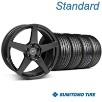 Forgestar CF5 Piano Black Wheel & Sumitomo Tire Kit - 20x9 (05-14 All) - Forgestar KIT||29876||63024