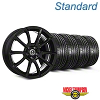 Shelby Super Snake Style Black Wheel & Mickey Thompson Tire Kit - 20x9 (05-14 All) - Shelby KIT||101407||79541
