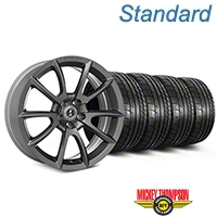 Shelby Super Snake Style Charcoal Wheel & Mickey Thompson Tire Kit - 20x9 (05-14 All) - Shelby KIT||101411||79541